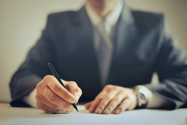 Signature of the Notary to validate the affidavit in place of original