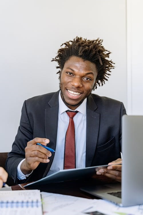 Man Discussing How to Write No Income Letter