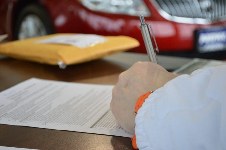 Writing a repossession letter