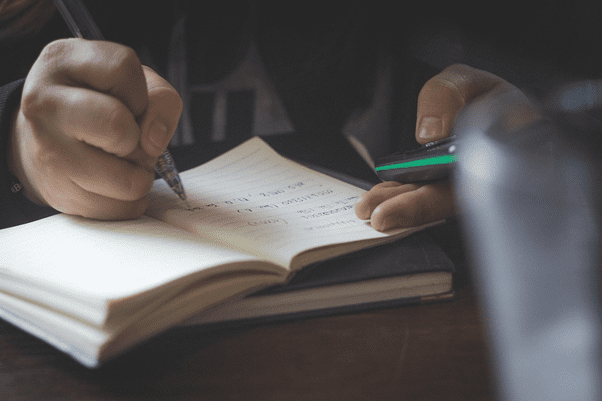 Writing a letter for court disposition